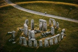 Stonehenge, about 2500 B.C., a few centuries before Abraham