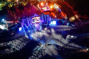 Armin in concert at Portugal's Tomorrowland