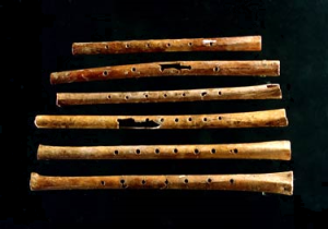 Chinese Bone Flutes