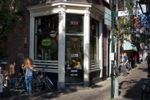 coffee shop in Leiden