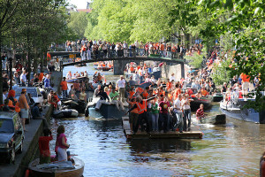 Queen's Day (Koninginnedag), Amsterdam, 2008