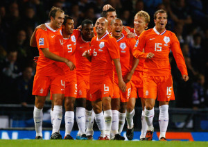Team Orange, World Cup Finalists in 2010